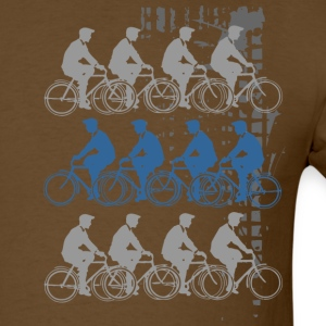 Bicycles Riding T-Shirts - Men's T-Shirt