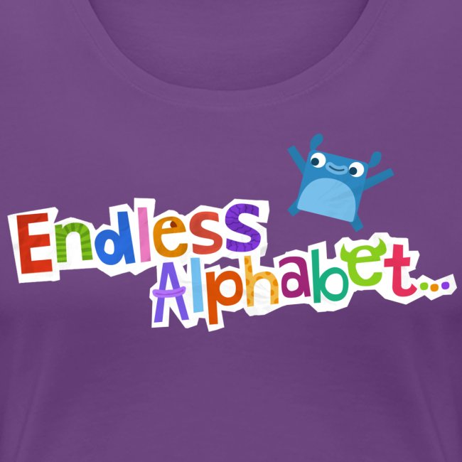 Women's Endless Alphabet Tee
