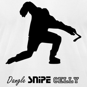 Hockey Celly T-Shirts - Men's T-Shirt by American Apparel