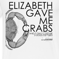 Design ~ Crabs! (Mens, Black Text)