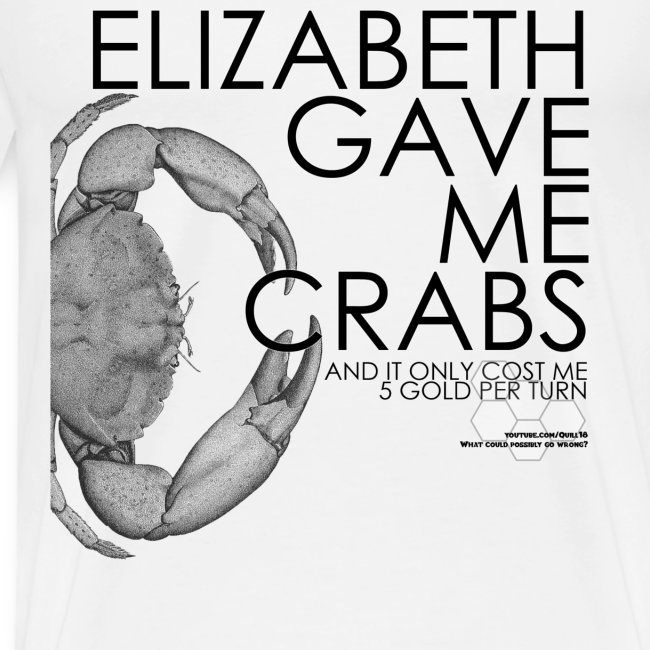 Crabs! (Mens, Black Text)