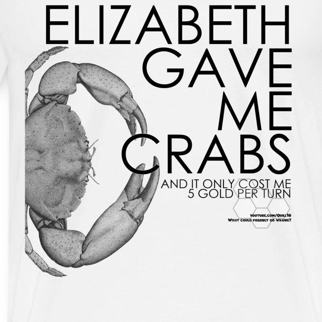 Crabs! (Mens, Black Text)