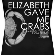 Design ~ Crabs! (Ladies, White Text)