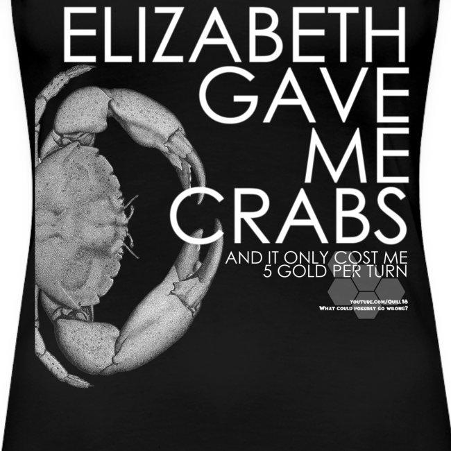 Crabs! (Ladies, White Text)