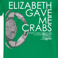 Design ~ Crabs! (Mens, White Text)