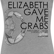 Design ~ Crabs! (Ladies, Black Text)