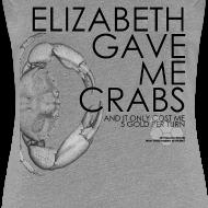 Design ~ Crabs! (Ladies, Black Text)