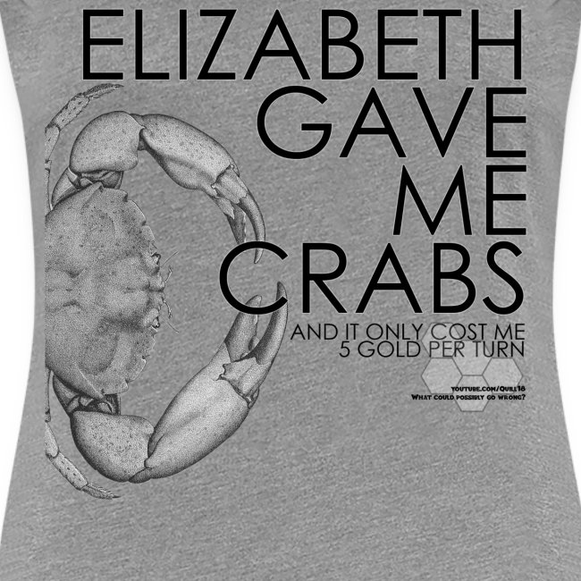 Crabs! (Ladies, Black Text)