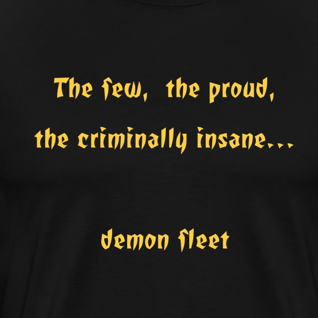 Demon fleet Men's T-Shirt