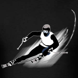 Skiing - Men's T-Shirt