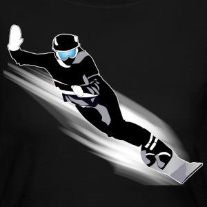 Snowboarding - Women's Long Sleeve Jersey T-Shirt