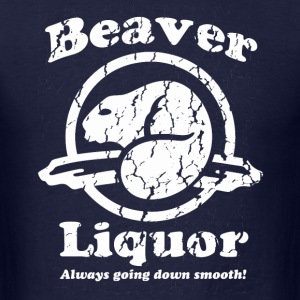 Beaver Liquor - Men's T-Shirt