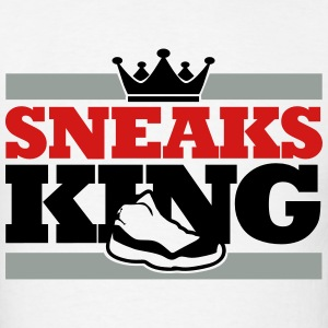sneaks king T-Shirts - Men's T-Shirt