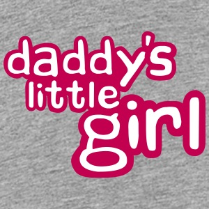 Daddys Little Girl Design Kids' Shirts - Kids' Premium T-Shirt