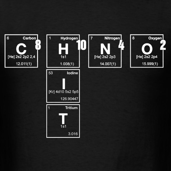 caffeine hit - periodic table scramble