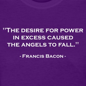 Francis Bacon on Power (White) Women's T-Shirts - Women's T-Shirt