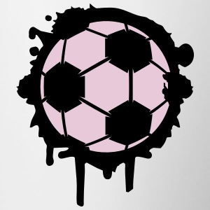 Soccer graffiti Accessories - Contrast Coffee Mug
