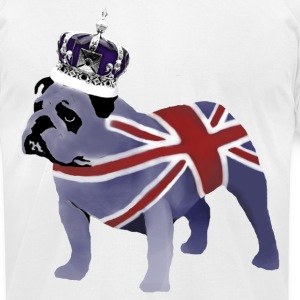 English Bulldog - Men's T-Shirt by American Apparel