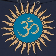 Om sun buddhism, yoga, spiritual, meditation, goa Hoodies