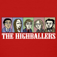 Design ~ The Highballers King of the Plains T-Shirt (Ladies)