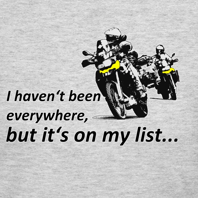 Dualsport - on my list 2 / Longsleeve LADIES