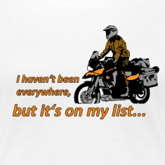 Dualsport - it's on my list 1 / Shirt LADIES