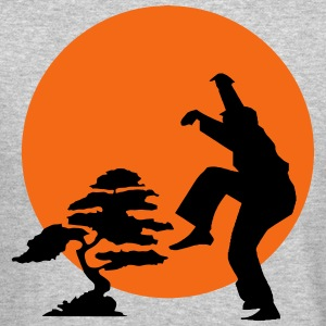 karate bonsai Long Sleeve Shirts - Crewneck Sweatshirt