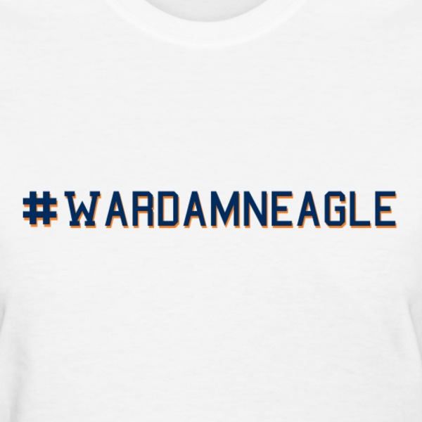 # Hashtag War Damn Eagle - Women's T-Shirt