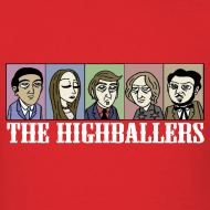 Design ~ The Highballers King of the Plains T-Shirt (Mens)