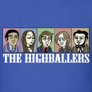 Design ~ The Highballers King of the Plains T-Shirt (Mens)