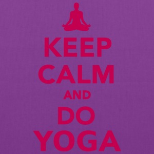 Keep calm and do Yoga Bags & backpacks - Tote Bag