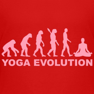 Yoga Evolution Kids' Shirts - Kids' Premium T-Shirt