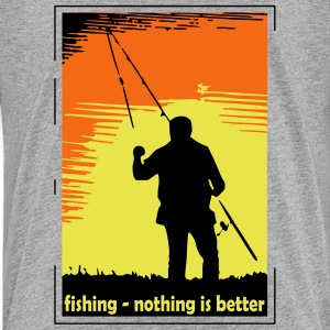 fishing - nothing is better (3 color) Kids' Shirts - Kids' Premium T-Shirt
