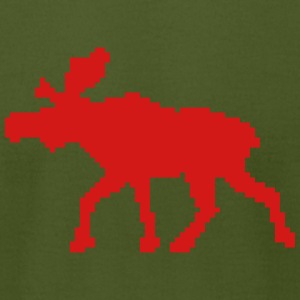 moose (1 color) T-Shirts - Men's T-Shirt by American Apparel