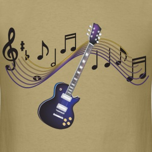 Electric Guitar - Men's T-Shirt