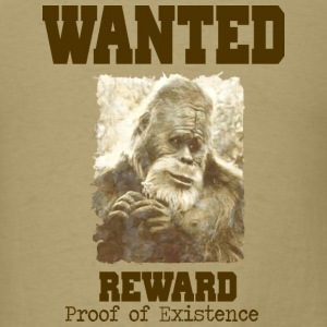 Wanted Sasquatch - Men's T-Shirt