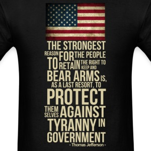 righ_to_bear_arms T-Shirts - Men's T-Shirt