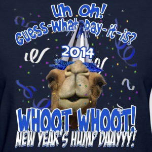 Hump Day Camel New Years Eve 2014 Party T-shirt - Women's T-Shirt