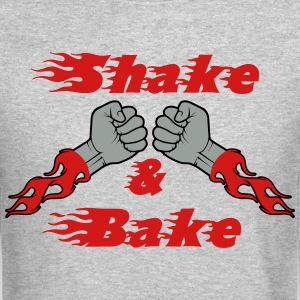 shake__bake_red Long Sleeve Shirts - Crewneck Sweatshirt