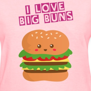cute and big cheese burger Women's T-Shirts - Women's T-Shirt