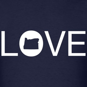 Oregon Love T-Shirts - Men's T-Shirt