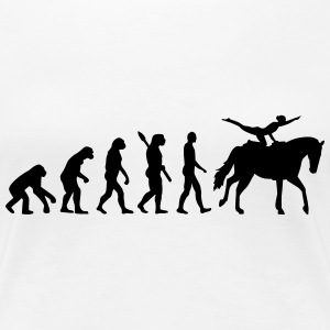 Evolution Vaulting Women's T-Shirts - Women's Premium T-Shirt