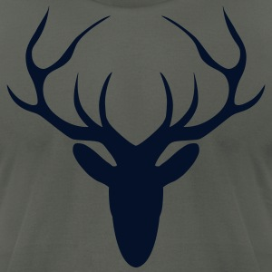 stag T-Shirts - Men's T-Shirt by American Apparel