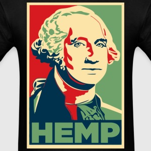 George Washington Hemp Cannabis Weed - Men's T-Shirt