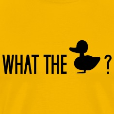 what the duck wtf fuck ducklings T-Shirts
