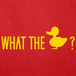what the duck wtf fuck ducklings Bags & backpacks - Tote Bag
