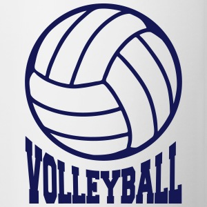 Volleyball unicolor Accessories - Contrast Coffee Mug