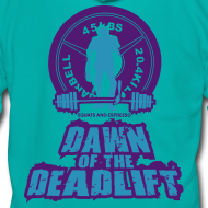 Design ~ Dawn of The Deadlift Hoodie Womens Hoodie 02