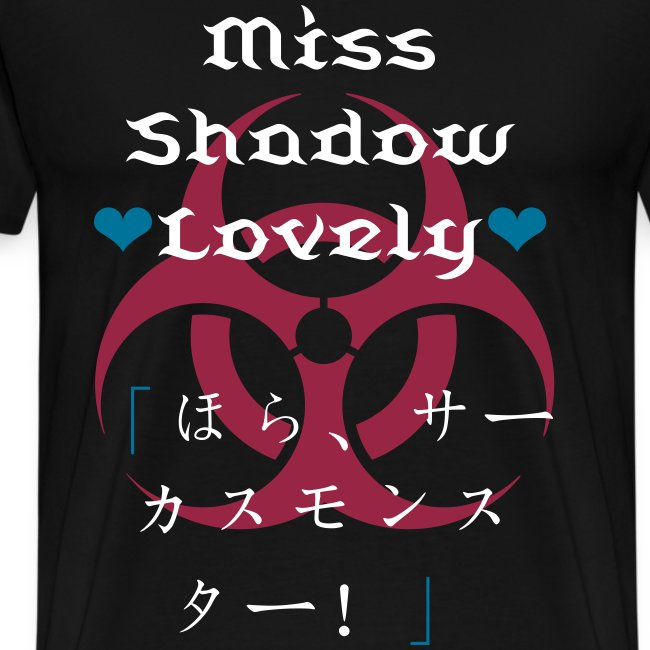 Miss Shadow Lovely - Mens T-Shirt