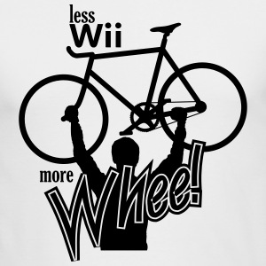 Less Wii More Whee - Men's Long Sleeve T-Shirt by Next Level